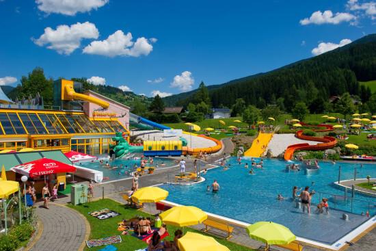 Erlebnisbad Wasserwelt Wagrain Ausflugsziele Moabauer Sommerurlaub
