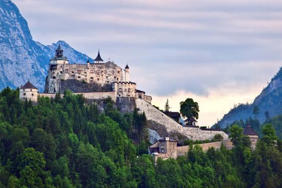 Burg Festung Hohenwerfen Werfen Wagrain Ausflugsziele Moabauer