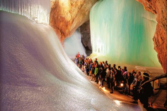 Eisriesenwelt Ausflugsziele Wagrain Moabauer Werfen Salzburger Land