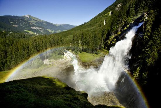 Krimmler Wasserfälle Ausflugsziele Wagrain Moabauer Salzburger Land