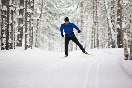 Langlaufen Winterwandern Skifahren Skiurlaub im Salzburger Land Moabauer