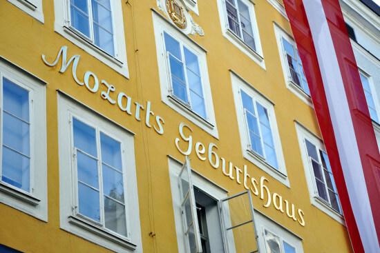 Mozarts Geburtshaus Salzburg Ausflugsziele Wagrain Moabauer