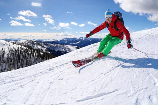Skifahren Winterurlaub Snowboarden Winter Aktivitäten Wagrain Salzburger Land Moabauer