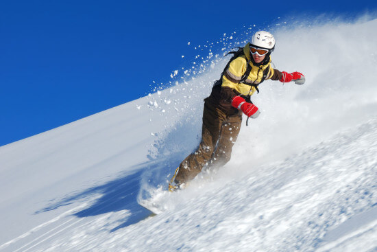 Snowboarden Winterurlaub Winter Skifahren Moabauer Ski amade