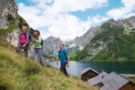 Wagrain Sommerurlaub im Salzburger Land Wandern Moabauer