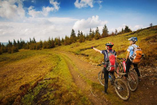 Wandern Wanderurlaub Ferienwohnung Moabauer Wagrain Kleinarl Biken Radfahren Mountainbiken
